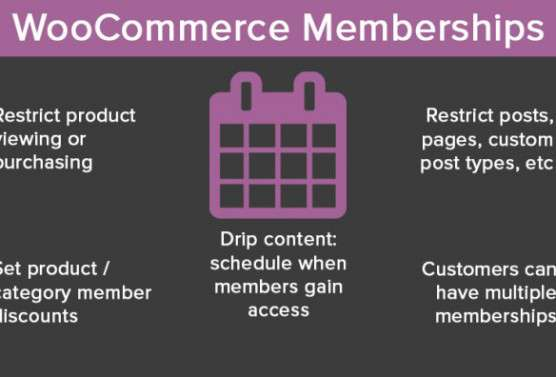 eCommerce, membership sites