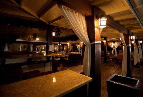 Empty Restaurants in Raleigh, Due to Coronavirus